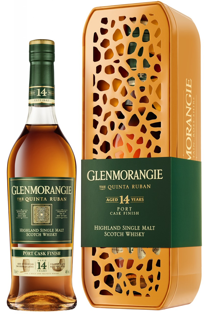 Glenmorangie Quinta Ruban - Giraffe Box