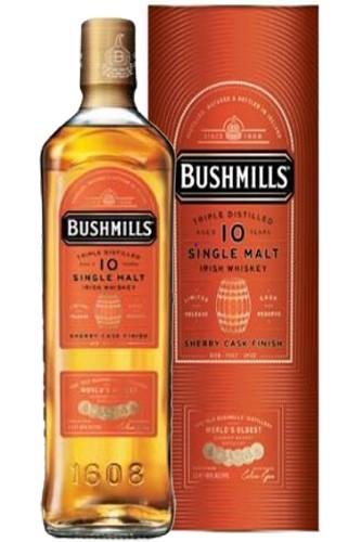 Bushmills 10 Jahre Sherry Cask - 46% Vol.