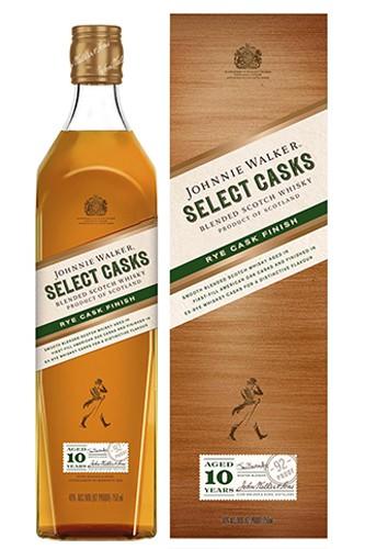 Johnnie Walker Select Casks - Rye Cask Finish