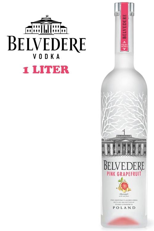 Belvedere Pink Grapefruite Vodka - 1 Liter