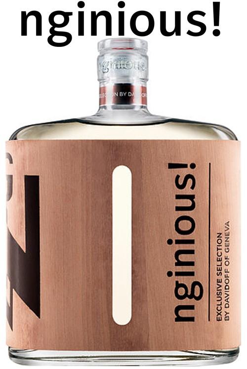 nginious! Gin Calvodos Cask by Davidoff