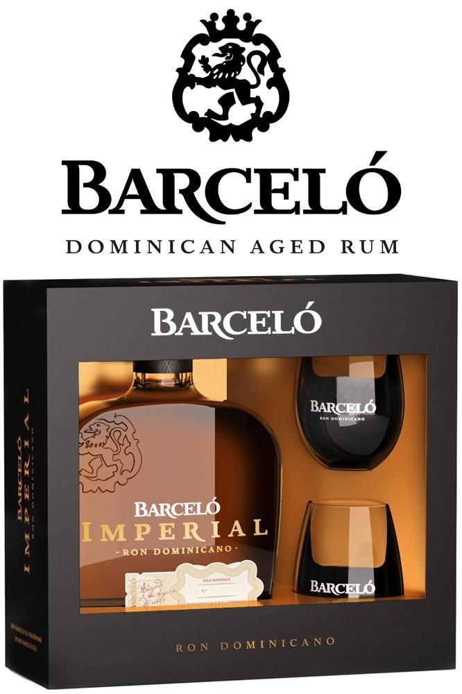 Ron Barcelo Imperial Rum - Geschenkbox