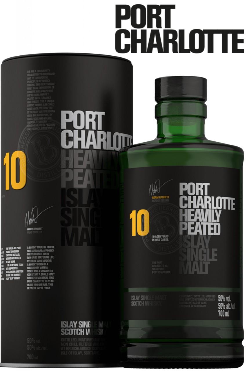 Port Charlotte 10 Jahre - Heavily Peated