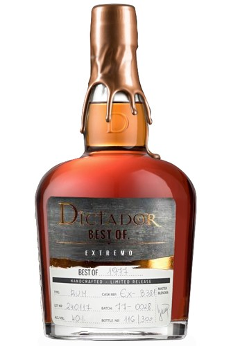 Dictador Best of 1977 Rum Extremo