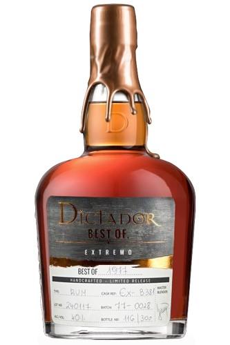 Dictador Best of 1977 Rum Extremo
