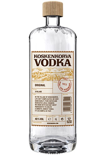 Koskenkorva Vodka 40% New Design