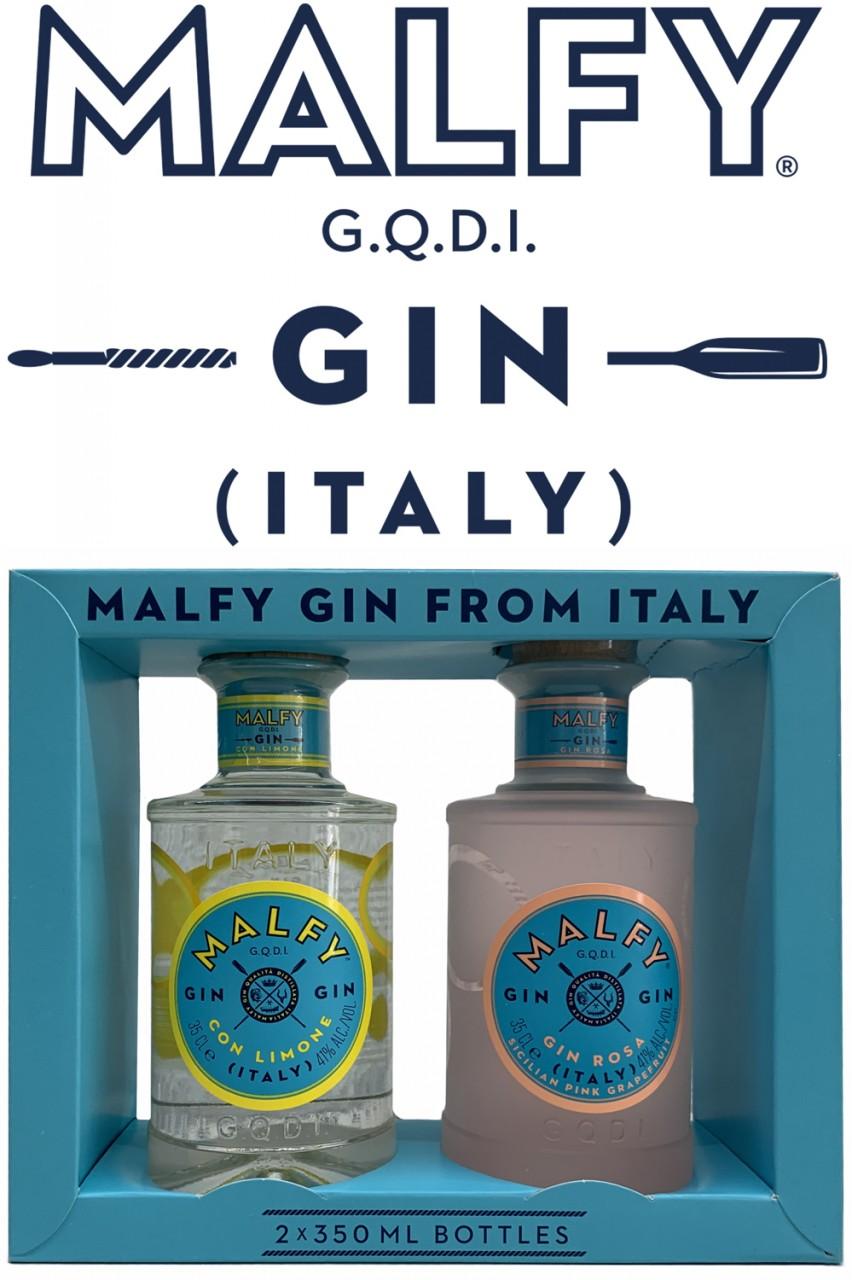 Malfy Gin Twinpack - Limone & Pink Grapefruit