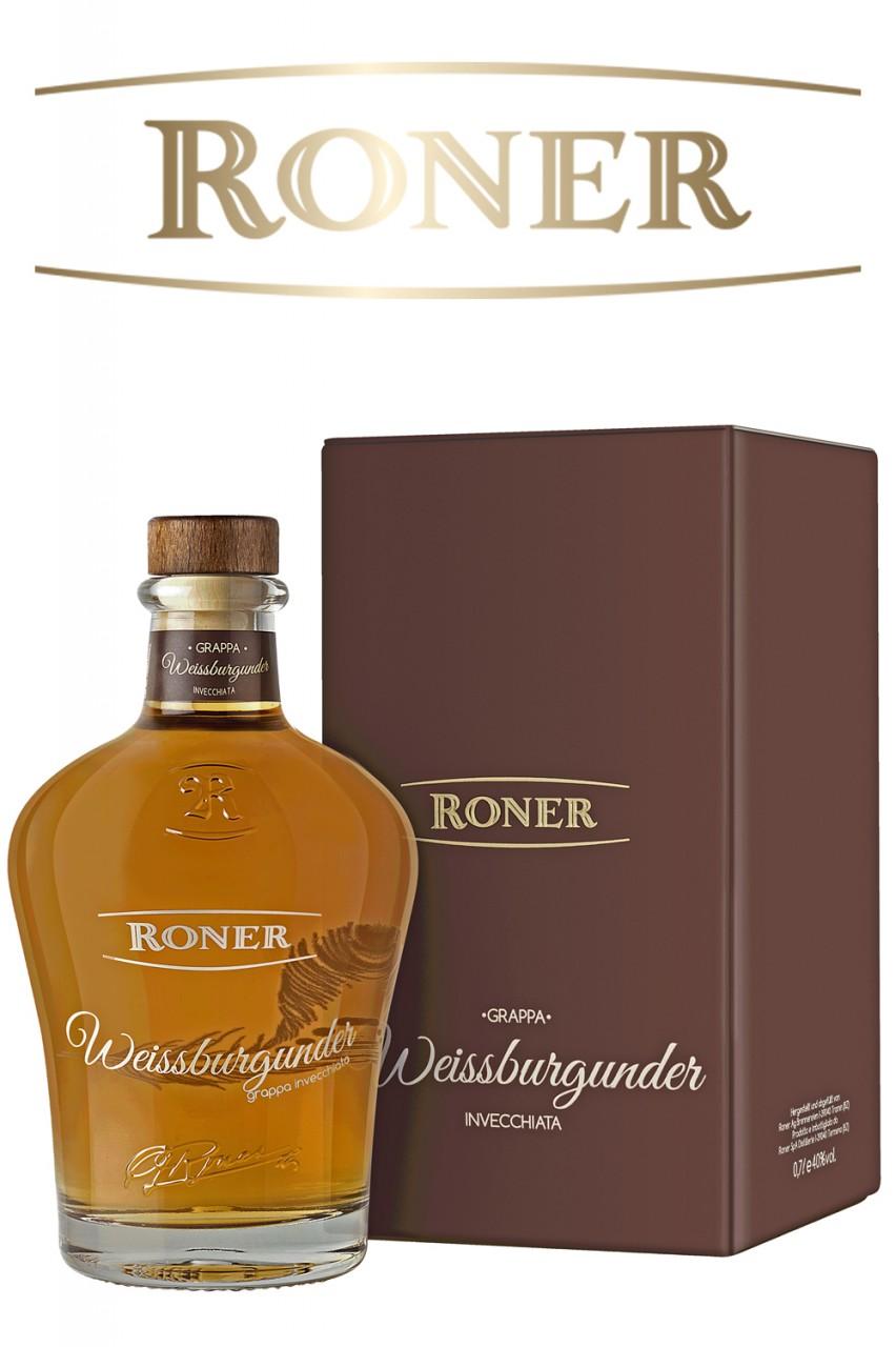 Roner Weißburgunder Grappa - Invecchiata