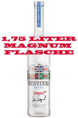 Belvedere Hero Red 1,75 Liter Vodka