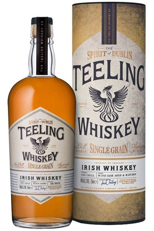 Teeling Single Grain Whiskey - Wine Cask
