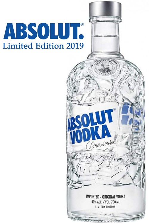 Absolut Recycled Vodka - Limited Edition 2019