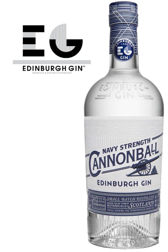 Edinburgh Cannonball Gin - 52,7% Vol.