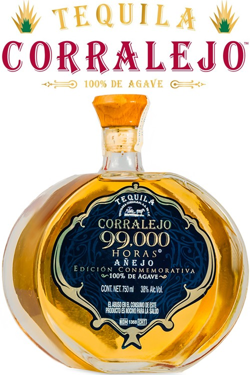 Corralejo Tequila 99,000 Horas Añejo