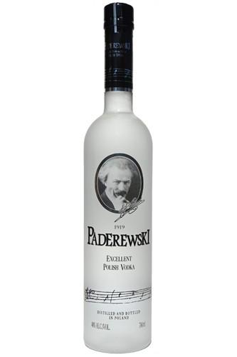 Paderewski Vodka Flasche