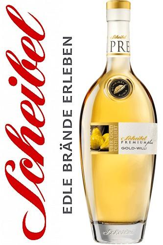 Scheibel PremiumPlus Gold-Willi - 40% Vol.