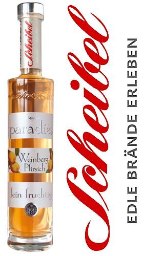 Scheibel Paradies Weinberg Pfirsich