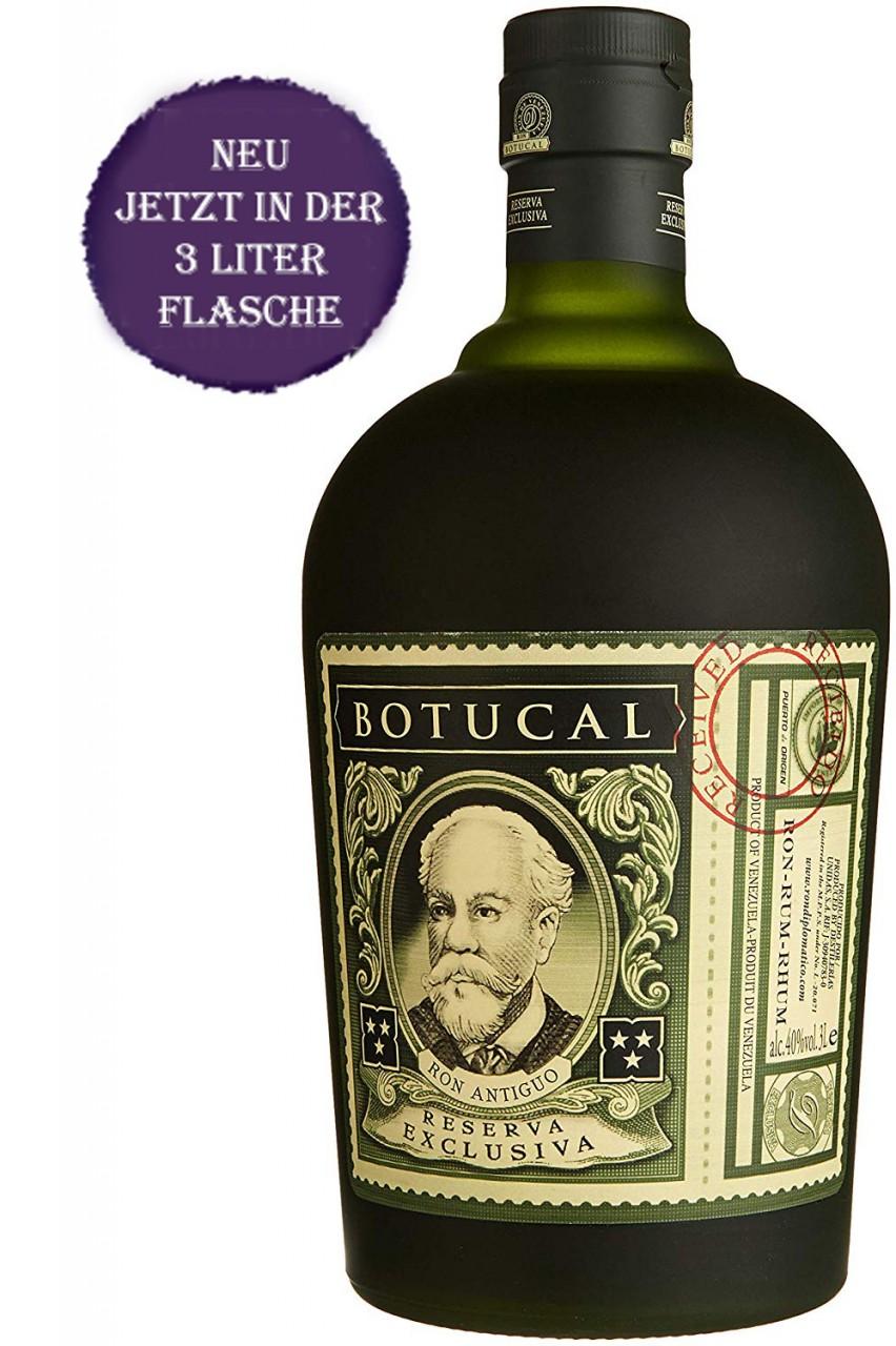 Botucal Reserva Exclusiva - 3 Liter Rum