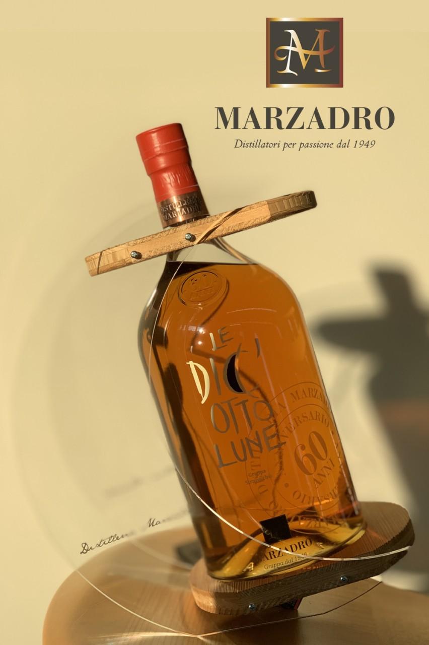Marzadro Le Diciotto Lune - 3 Liter Grappa