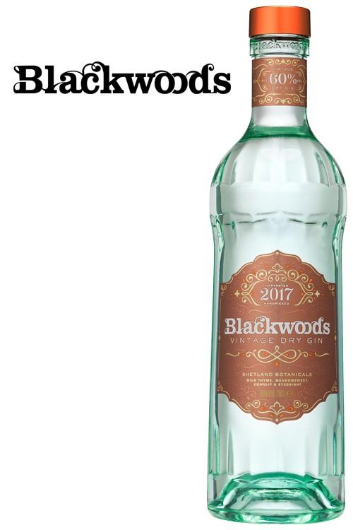 Blackwood Vintage Dry Gin 60% - New Design
