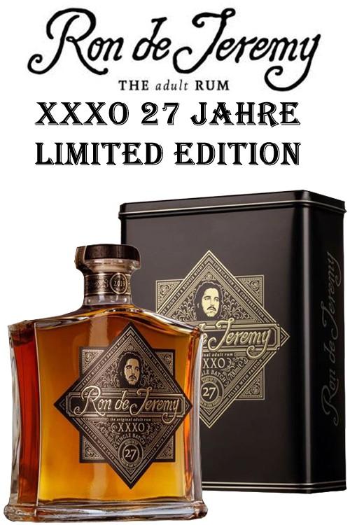 Ron de Jeremy XXXO - 27 Jahre Rum