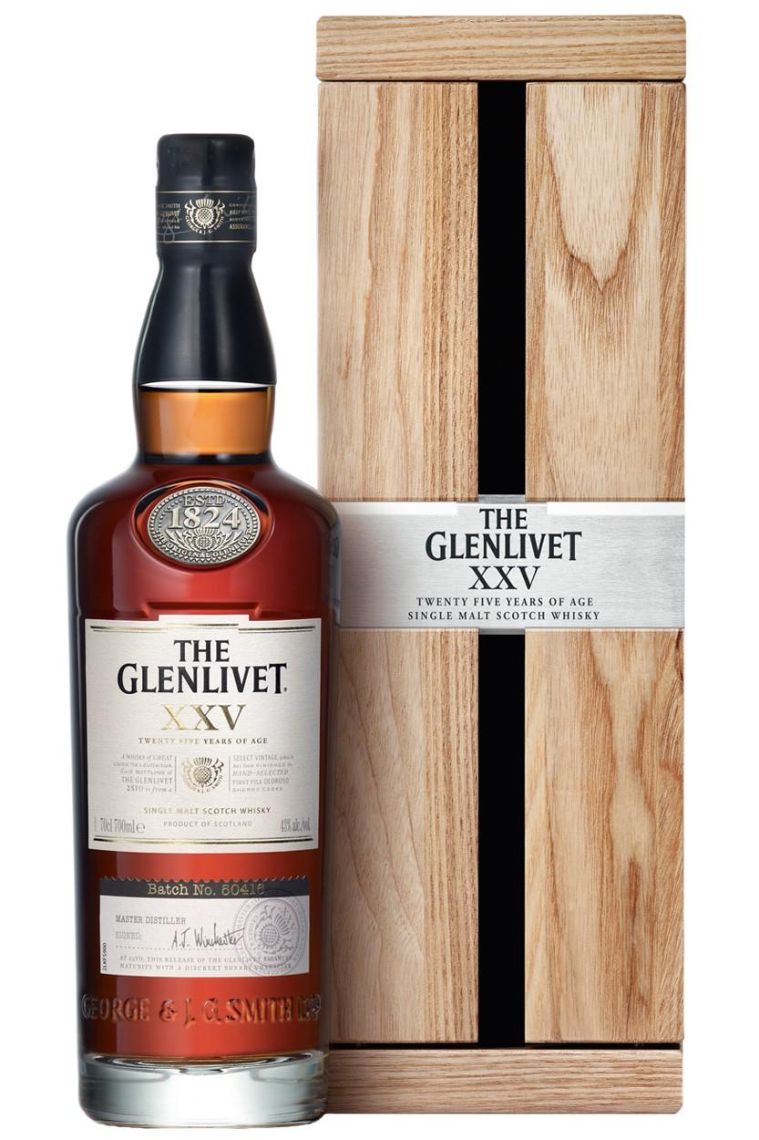 Glenlivet XXV 25 Jahre Whisky
