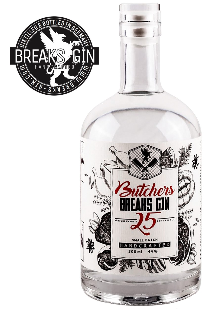 Breaks Butcher 25 Gin