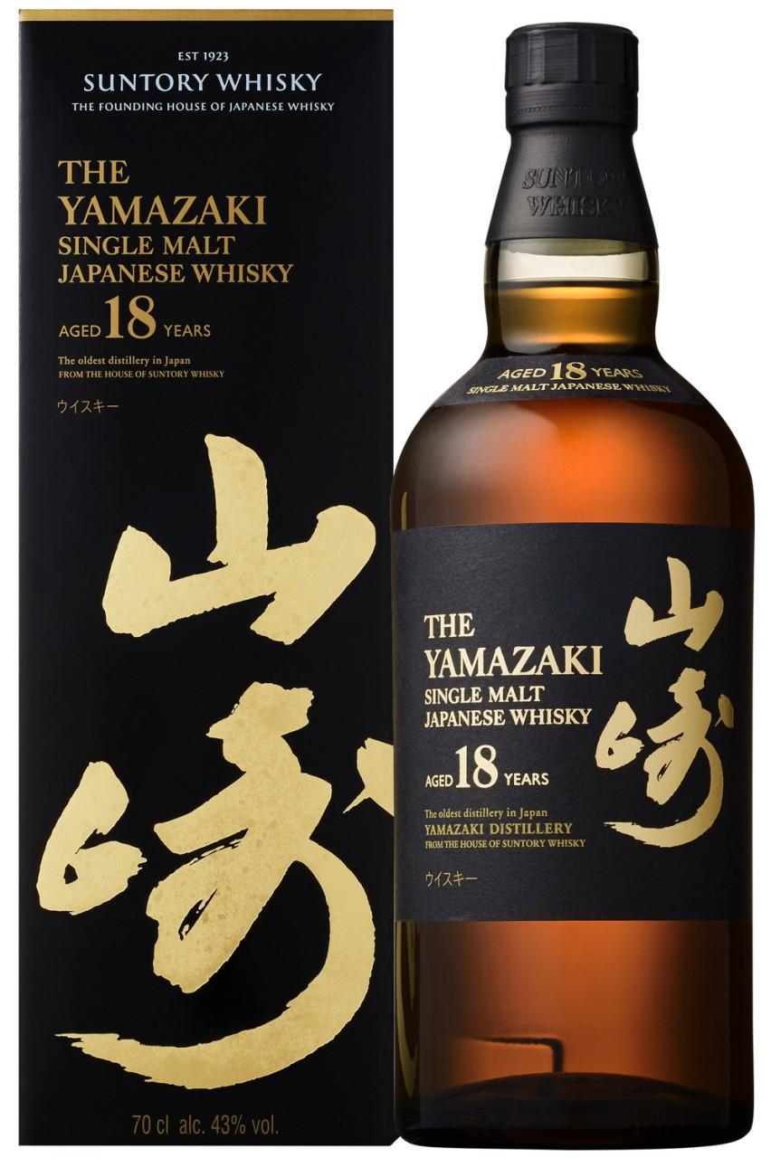 Yamazaki 18 Jahre - 43% Vol.