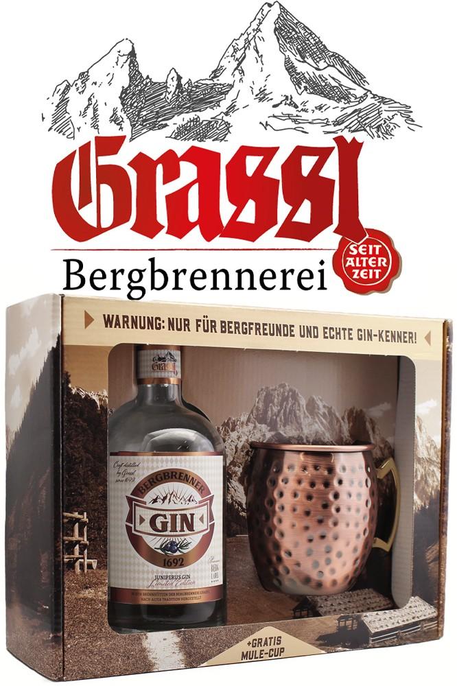 Grassl Bergbrenner Gin - Geschenkbox