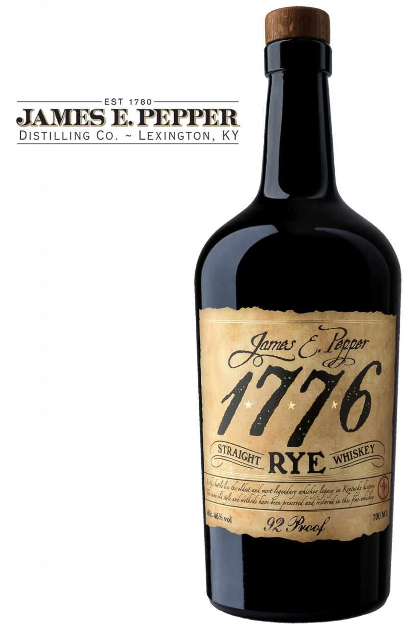 James E. Pepper Rye Whiskey