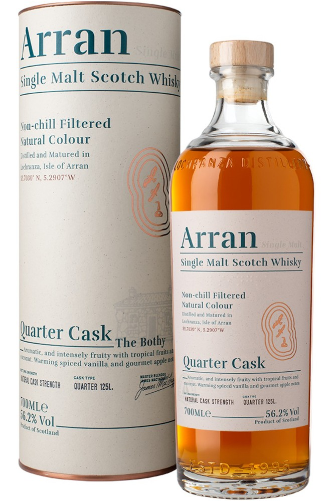 Arran Quarter Cask - The Bothy New Edition