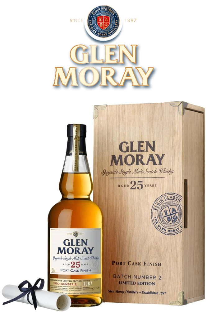 Glen Moray 25 Jahre -Batch 2 - Portwood