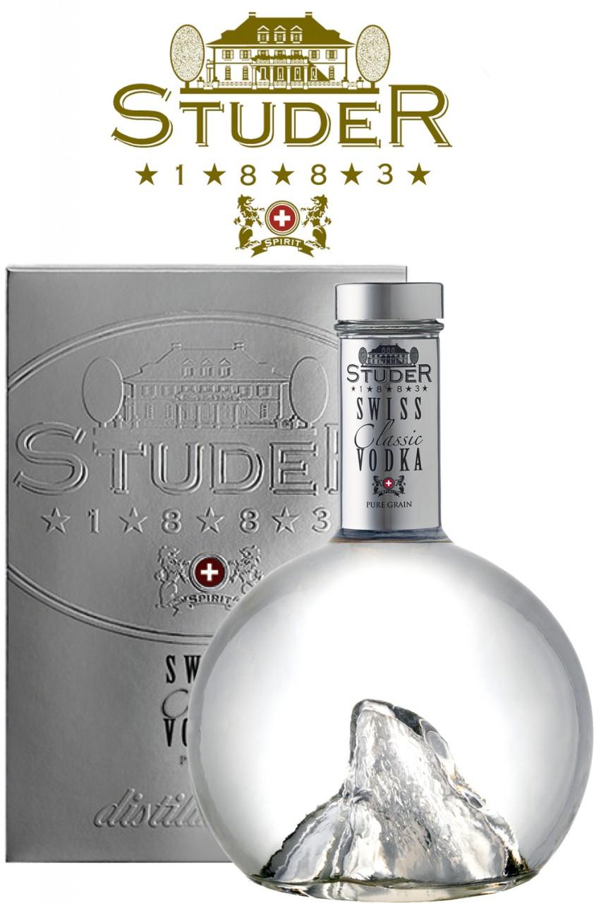 Studer Swiss Classic Vodka