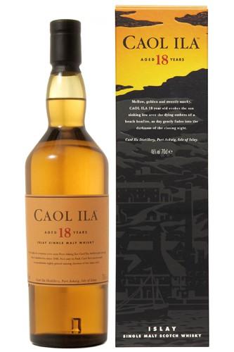 Caol Ila 18 Jahre Whisky
