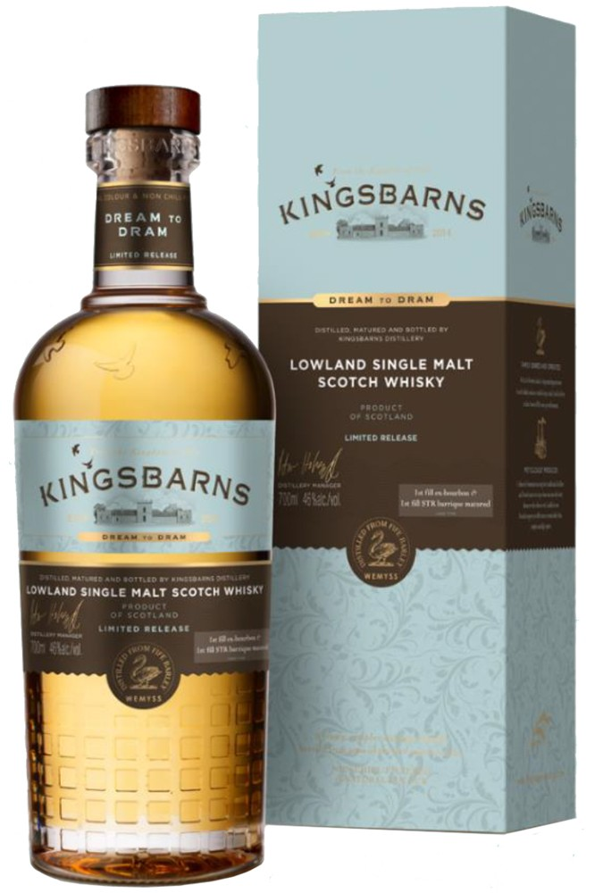 Kingsbarns - Dream to Dram Whisky