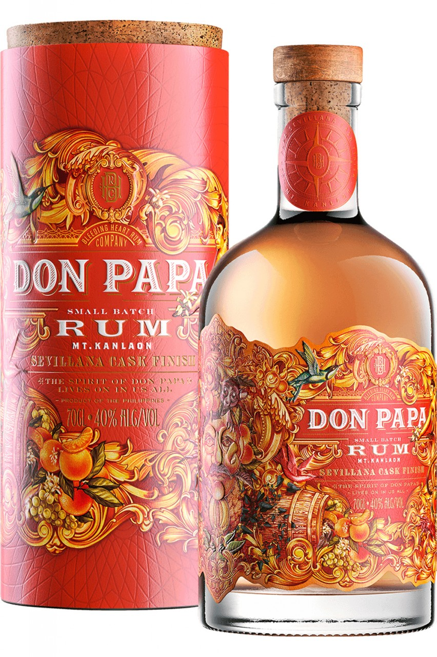 Don Papa Sevillana Cask Rum - Limited Edition