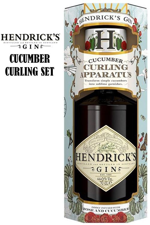 Hendricks Dry Gin 41,4% - Gurkenschneider Set