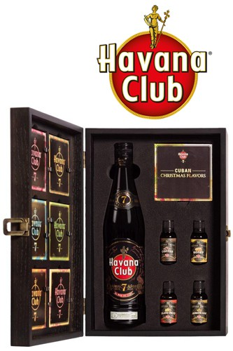 Havana Club Geschenkbox aus Holz