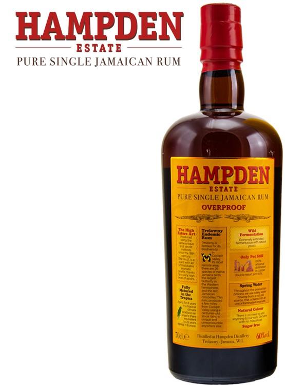 Hampden Estate Overproof Single Jamaican Rum