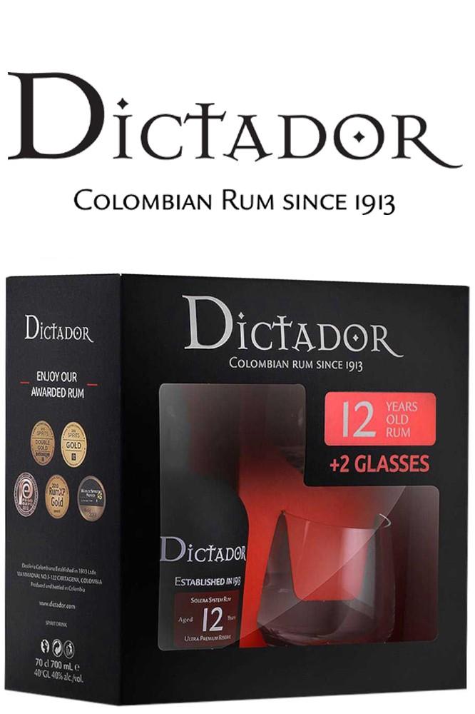 Dictador 12 Jahre Rum Geschenkset