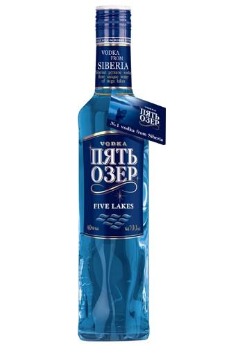 Five Lakes Premium Vodka 700 ml
