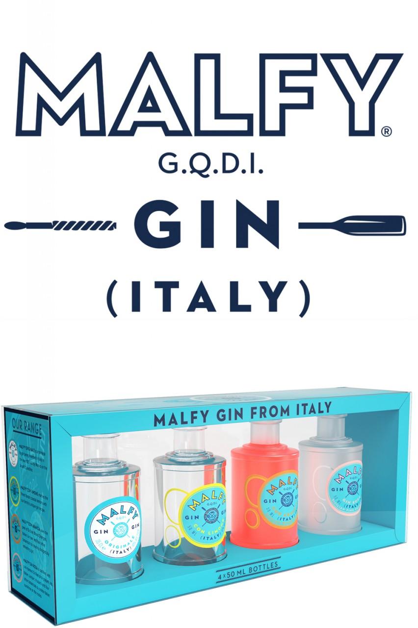 Malfy Gin Miniatur Set - 4 x 50 ml