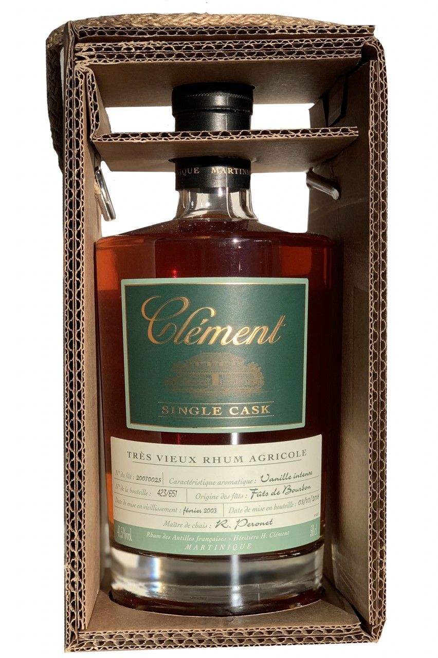 Clement Rhum Vanille Intense SIngle Cask