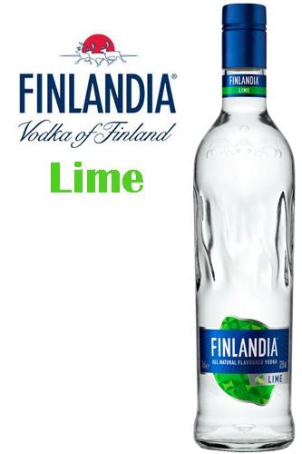 Finlandia Lime Vodka - New Design