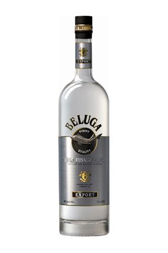 Beluga Vodka 0,5 Liter Flasche