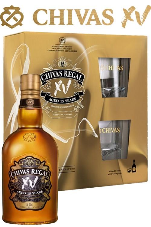 Chivas Regal XV - 15 Jahre Geschenkset