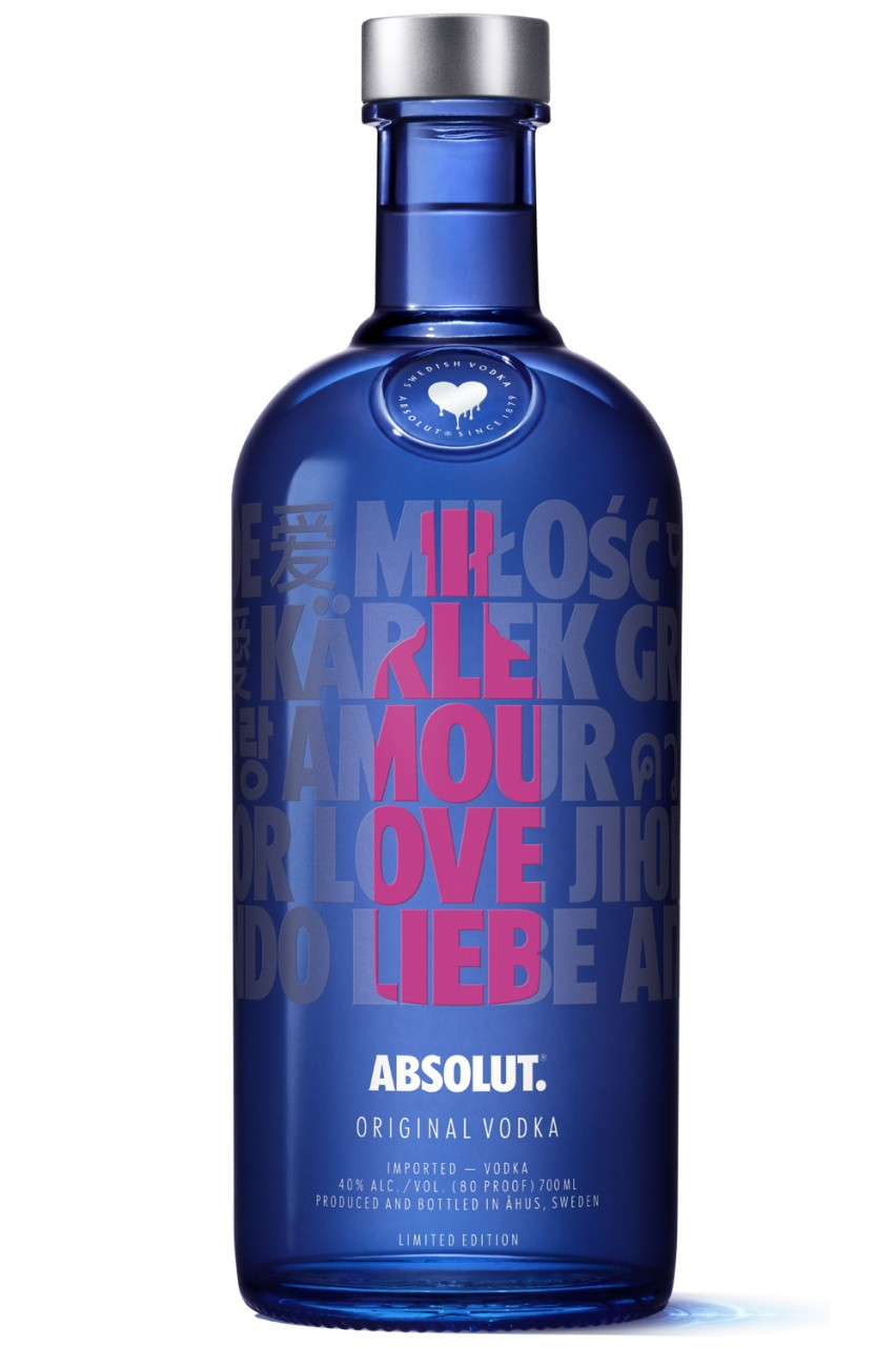 Absolut - A Drop of Love - Rosé