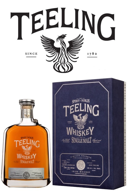 Teeling 24 Jahre - Irish Single Malt Whiskey