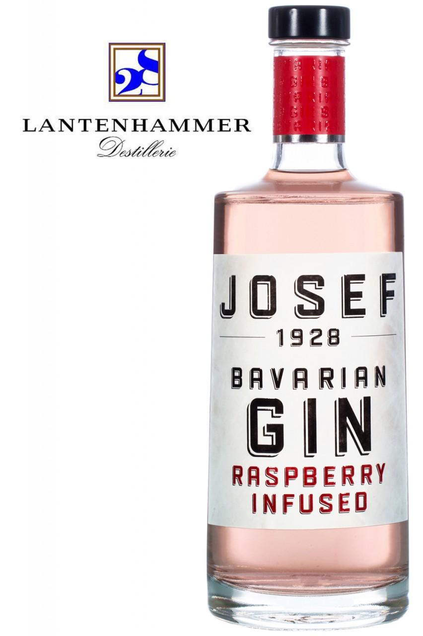 Josef 1928 Raspberry Infused Gin - Etikett