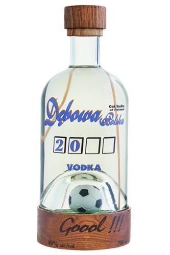 Debowa Polska Vodka mit Fussball