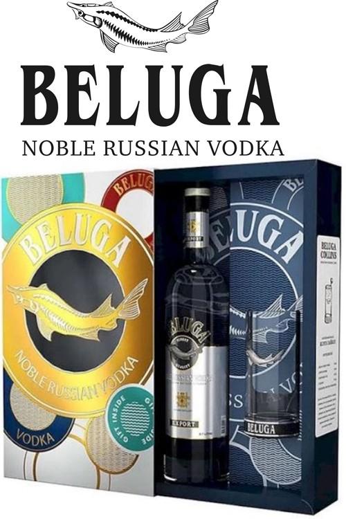 Beluga Noble Vodka Geschenkset